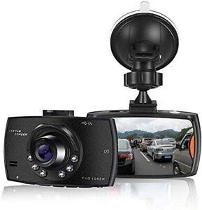 Dash Cam FHD 720P Video Telecamera per Auto, Grandangolare 120° REGISTRATORE