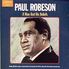 Paul Robeson : A Man and His Beliefs CD