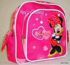Minnie Mouse Small handbag Tote  BackPack School Back Pack Bag 9 x 9  NIB