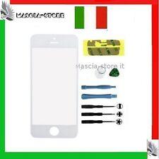Ricambio Vetrino Vetro Bianco Iphone 5s con Attrezzi Per Touch screen Display 5S