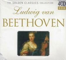 4 CD Box ♫ Compact disc **BEETHOVEN** Golden Classic Collection nuovo sigillato