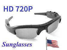 HD 720P Spy Gadgets Hidden Digital Video Camera Sunglasses Camcorder Sun Glasses