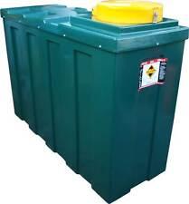 Ecosure 1100 Litre 1000 Ltr Slimline Bunded Waste Oil Storage Tank Green