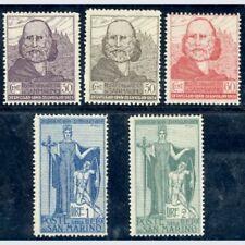 San Marino 1924 Garibaldi serie cpl. n. 98/102 Integri