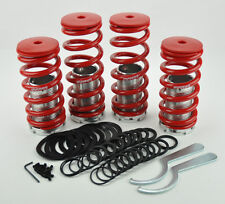 Honda Accord 90-97 Red Suspension Coilovers Lowering Springs Kit Megan Racing