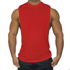 Mens Bodybuilding Sleeveless Tank Top Muscle T-Shirt Gym Fitness Sport Stringer