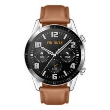 "Huawei Watch GT2 2020 Brown Leather Strap 46mm 1.39"" OLED Display Waterproof NEW"