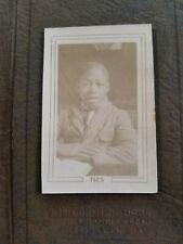 1925 AFRICAN AMERICAN SCHOOL BOY PHOTO Desk Wearing Suit GLENOLDEN PA McCormick