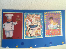 Lot 3 Mary Engelbreit Birthday Cards Rare Art Cards Me