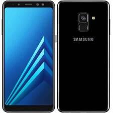 """SAMSUNG A8 2018 A530 BLACK NO BRAND ITALIA DUAL SIM 32GB 5,6"""" 4G LTE NERO"""
