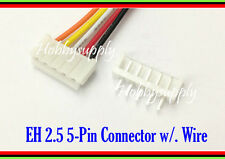 JST EH 5-Pin 2.5mm Female Housing Connector with wire 300mm & Male Header 2 SETS