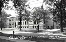 Oberlin Ohio Oberlin College Physics Lab Real Photo Antique Postcard J60395