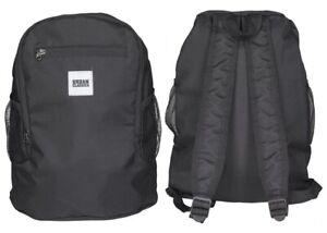 Foldable Rucksack faltbar Backpack schwarz Schultertasche Umhängetasche