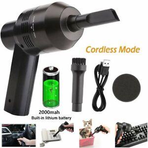 Mini USB Staubsauger Handstaubsauger Cleaner für Car Laptop PC Tastatur Wireless