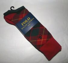 NWT MENS RALPH LAUREN CASUAL DRESS SOCKS~3 PAIRS~ASSORTED