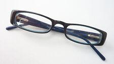 Reading Glasses Half Without Glasses Blue Black Wide Flexbügel Lunettes Sizem