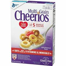 Multi Grain Cheerios, Gluten Free, Multigrain Cereal, 9 oz