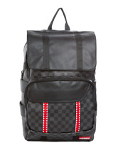 Sprayground Sharks In Paris Black Damier Pattern Rucksack Backpack 910B1318NSZ