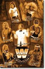 2010 WWE LEGENDS poster 22x34 SGT SLAUGHTER MR PERFECT RODDY PIPER new free ship