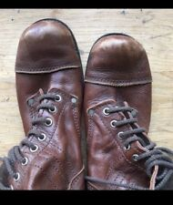 Junya Watanabe Comme Des Garcons Brown Leather Boots