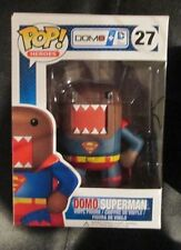 DOMO-Kun in Superman Costume FUNKO POP HEROES Vinyl, so Cool! (Free s/h in USA)