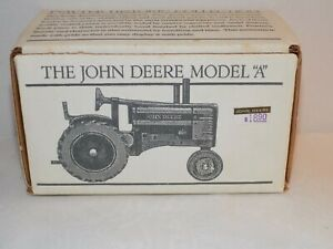 Spec - Cast John Deere Tractor Model A  New! Hand Finished Display Piece  NICE