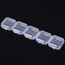 5pcs mini clear plastic sample bottle face cream container ear plug small FY