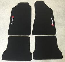 Autoteppiche Fußmatten für Audi Typ 85 B2 10V Ur-quattro Neu 2farbig 4teilig