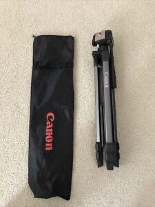 Canon camera adjustable tripod with bag