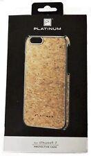 NEW Platinum iPhone 8 iPhone 7 CORK Protective Phone Case PT-MA7CRK brown slim