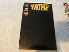 PRIME 1 black cover MALIBU  comic book