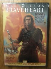Braveheart (Dvd, 2000, Widescreen) Mel Gibson New Sealed