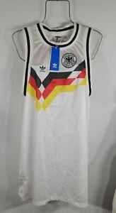 Adidas Originals Women's Germany Tank Dress L Deutscher Fussball-Bund NWT