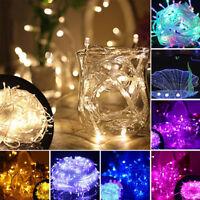 Fairy 10m 100LED String Strap Light Lamp Home Christmas Wedding Xmas Party Decor