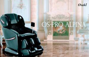 Dealer Store Osaki OS-Pro ALPINA Zero Gravity SL-Track Massage Chair FREE SHIP