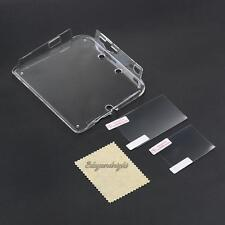 For Nintendo 2DS Console+ FilmClear Protective Transparent Case Cover Shell New