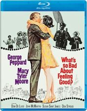 WHAT'S SO BAD ABOUT FEELING GOOD New Blu-ray George Peppard Mary Tyler Moore
