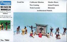Pegasus 1/48th Scale California Mission Indians Set #1 Model Diorama Kit