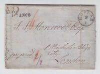 Hannover - Vorphila, 1851 - Brief von GOSLAR (K1) nach London/England - prepaid