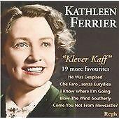 Klever Kaff, Kathleen Ferrier, Very Good CD