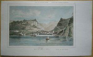 1848 print JAMESTOWN, SAINT HELENA, ATLANTIC OCEAN (#18)