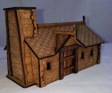 LCA DRAGONPORT WARGAMING MDF- building scenery Dwarf/HALFLING Cottage 2 @ sun