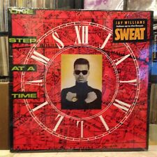 """[EDM]~SEALED 12""""~JAY WILLIAMS~One Step At A Time~[x5 Mixers]~{1990 BIG BEAT]"""