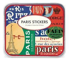 PARIS STICKERS - 100plus VINTAGE INSPIRED STICKERS - Cavallini & Co - NEW