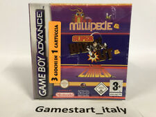 MILLIPEDE + SUPER BREAKOUT + LUNAR LANDER - NINTENDO GAME BOY ADVANCE GBA - NEW