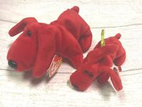 Rover Red Dog PVC 4th Gen 1996 Retired Ty Beanie Baby Collectible & Teenie Lot