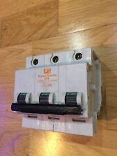 Federal Electric 40a mcb Type C 40A Triple Pole C40 Stablok HBA HCA3P40