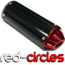 RED 28mm PIT BIKE CNC EXHAUST SILENCER / MUFFLER fits 50cc 110cc 125cc PITBIKE