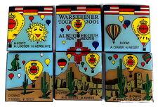 WARSTEINER BALLON Pin / Pins - ALBUQUERQUE IBF 2001 / MEXICO - 6 PINS!!!! [3145]