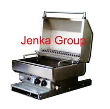SWIFT 3 WAY STAINLESS STEEL BBQ WITH SLIDE OUT AND 90˚ ROTATABLE. CARAVAN & RV S